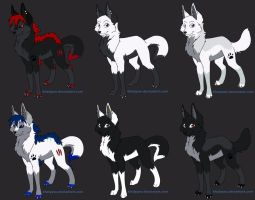 Point adoptables by JENNY8888