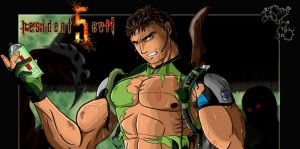 Chris Redfield by Akuma-Otoko