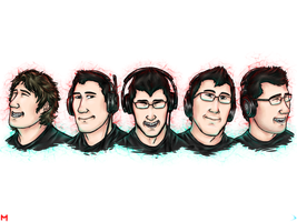 Markiplier - Time by SimplEagle