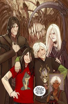 death vigil issue 5 by nebezial