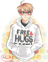 Free Hugs! by TheCrazyGirlWhoDraws