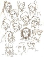 LOK cast by compoundbreadd