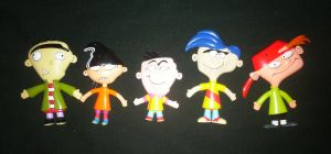 My EEnE bendables figurines by Edness-Madness
