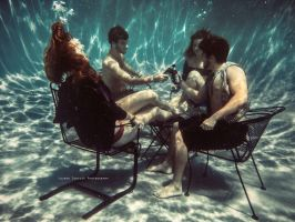Underwater Lounging by LaurenCoakley