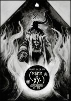 HELLBOY eclipse of XX.year  FINALIST! by huseyinozkan