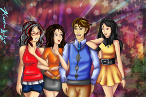 Pt. Com: A Night with the Girls by Miscellaneously-Kina