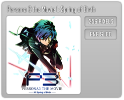 Persona 3 The Movie 1 - Anime Folder Icon by Aven-23
