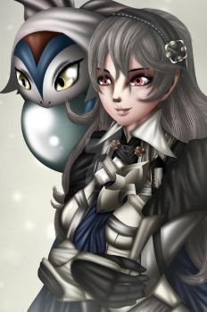 FE14 Corrin and Lilith by NeonIncarnate