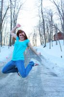 Jump for joy by CarianneCouture