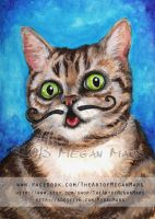 Lil Bub - Cats with Moustaches by Lilith413