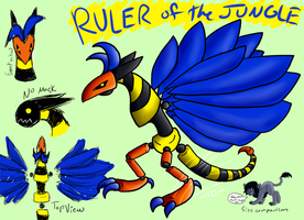 Ruler of the Jungle - Concept by The-Hybrid-Mobian