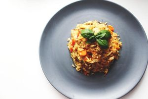 rice, chicken by PaulinePhotos