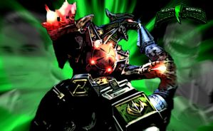 Dragonzord by scottasl