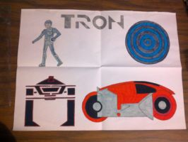 TRON 1982 - Final Project by BeePrime93