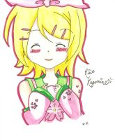 Rin Kagamine (Request) by YuukiCross5
