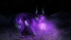 Commission - In The Darkest Night by Mikaley