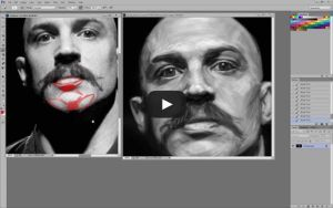 Tom Hardy Portrait Critique by MikeMeth