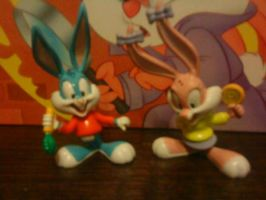My Babs and Buster Figures by TINY-TOONS-CLUB