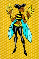 Bumble Bee colored by Gothanpallace