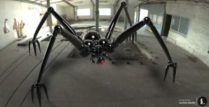 Spider drone by gtgv