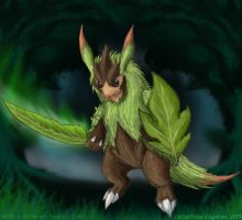 Quilladin: Woodland Warrior by StellarWind