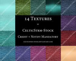 14 Textures by CelticStrm-Stock by CelticStrm-Stock