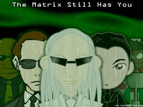 Matrix Still Has You Wallpaper by LegendaryFrog