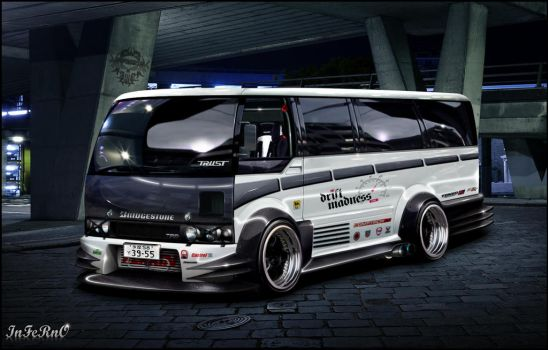 Toyota coaster by inferno-87