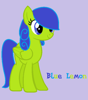 Blue Lemon (New Art Style Pratctice) by Dead-Dawgz