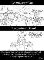 Warhammer Commissars by Morgaer