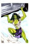Savage She-Hulk by montrosity
