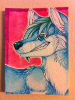 Iron Artist Challenge ACEO 2 by nightspiritwing