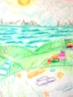 Crayon Landscape: My World by Wordgirlserenity67