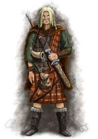 Celtic warrior by jcjacobsson