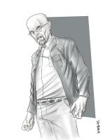 Walter White by Supajoe