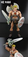 He-Man Classics custom figure by Jin-Saotome