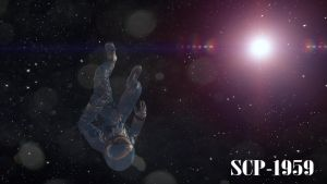 SCP-1959 The Lost Cosmonaut by maxalate