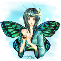 I'm A Little Butterfly - DDR by everlastingwish