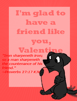 valentines card by Colliequest