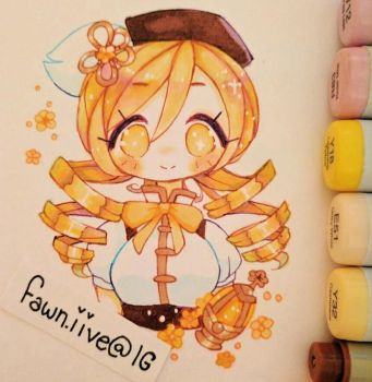 Mami [Copic Art] by Fawniive