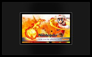 Fire Mario Design: Power by Desidus