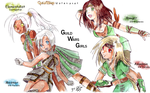 GuildWars Girls by Qvi