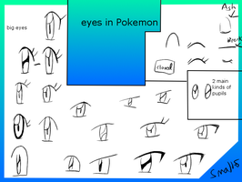 Pokemon Eye Collection by CrystalClair