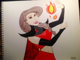 Fire Element Adriana by Miss-AutumnRose