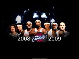 Cleveland Cavaliers 08-09 by witnessGFX