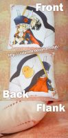 Prussia Pillow - make by hand by siguredo