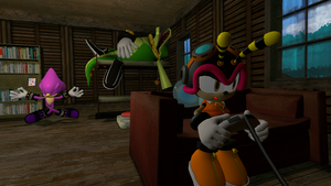 A Lazy Day with the Chaotix by Nictrain123