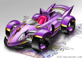 Blaze Car : Violet Inferno by PsuC