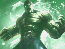 Hulk Wallpaper by AgusholliD