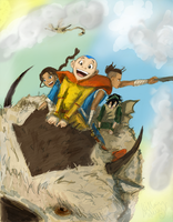 The Aang Gang by Hillary-CW